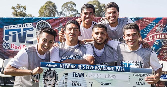 El genio de Neymar Jr. 'Presente' en partidos del Torneo de Fútbol Rápido en Chula Vista