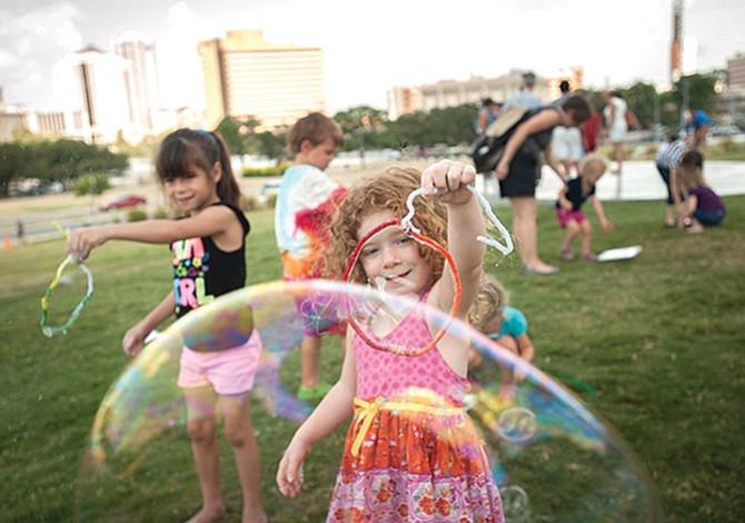 A zambullirse en las burbujas