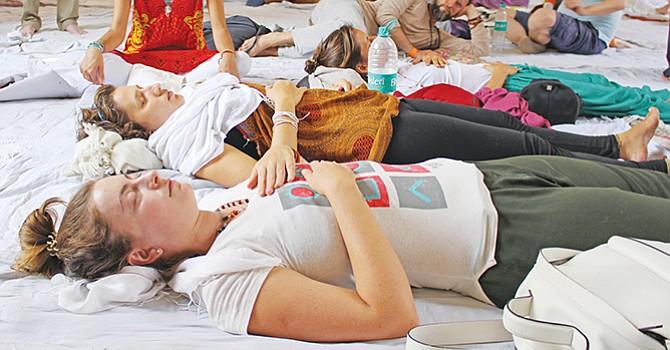 La industria del yoga, a todo trapo