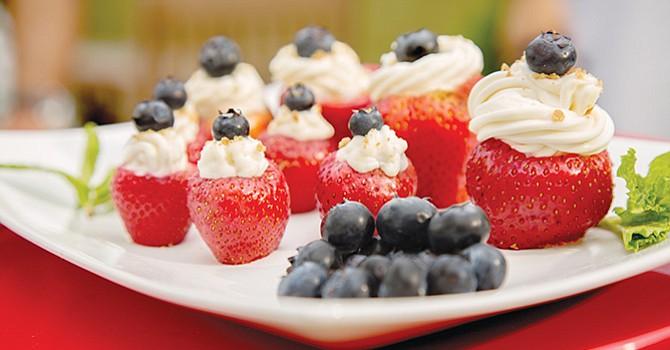 Fresas rellenas de Cheesecake