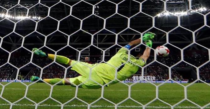 3-0. Chile tumba a Portugal en la tanda de penaltis con Bravo como héroe