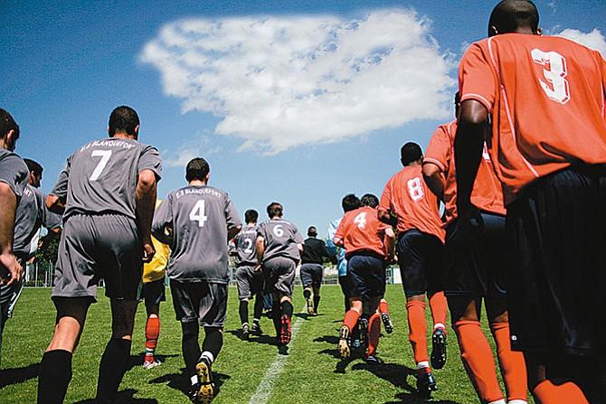 El fútbol intercontinental  se vive en Texas