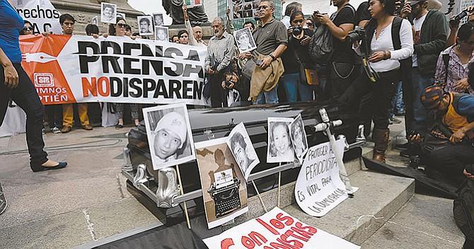 Impunidad en los asesinatos de periodistas