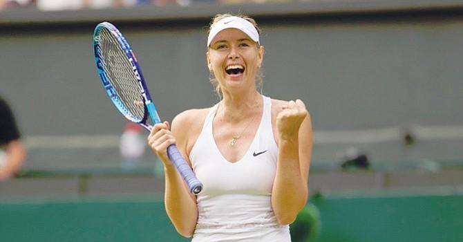 Expectación por la asistencia a torneo local de la gran tenista rusa Maria Shaparova