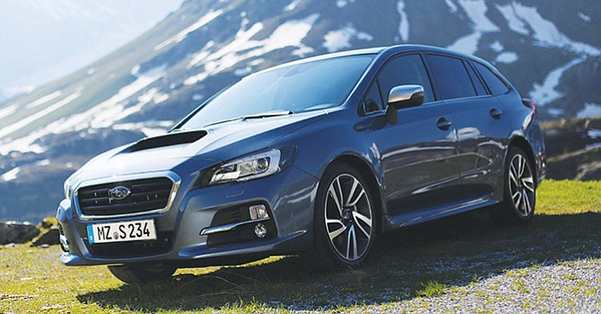 La revolución familiar Subaru Levorg 1.6 GT Executive Plus