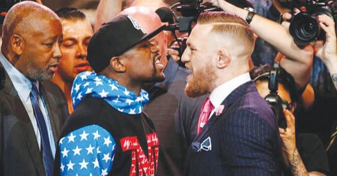 ¿La Pelea del Morbo?, con gran publicidad se anuncia el combate entre Floyd Mayweather y Conor McGregor