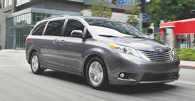 Toyota Sienna del 2017