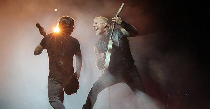 Metallica regresa a San Diego con una presentación inolvidable