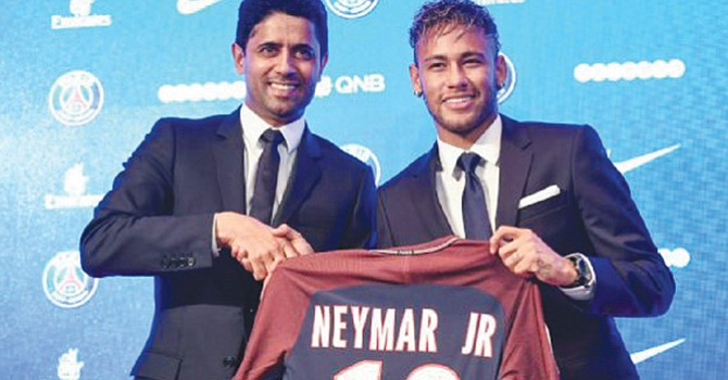Neymar al Paris Saint Germain