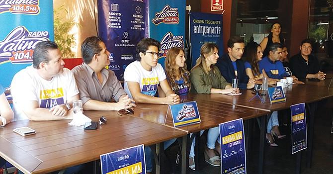 Presentan Mamma Mia, el musical en Tijuana; San Diego y Tijuana se merecen este tipo de producciones