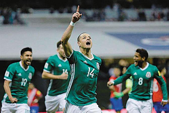México clasificó al Mundial