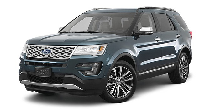 Ford Explorer Platinum del 2017