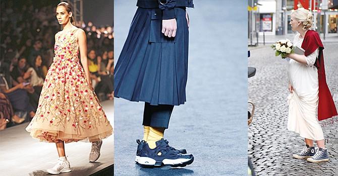 Las zapatillas deportivas los nuevos (no) tacones