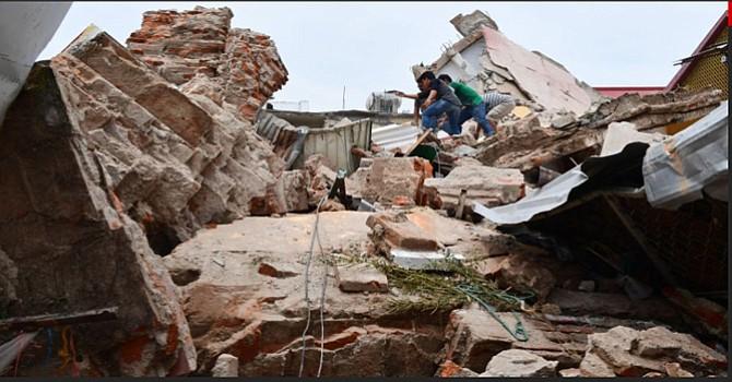 Asciende el número de víctimas por el terremoto registrado la noche de este jueves en México