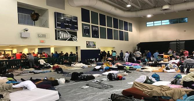 Para refugiados de Irma, la pregunta ahora es cuándo podrán volver a casa
