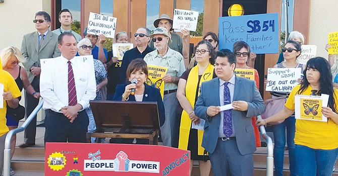 Apoyan en Chula Vista la propuesta de estado santuario