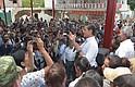 El presidente Enrique Peña Nieto se dirigió a residentes del municipio poblano. Foto-Cortesía: Presidencia de la República.