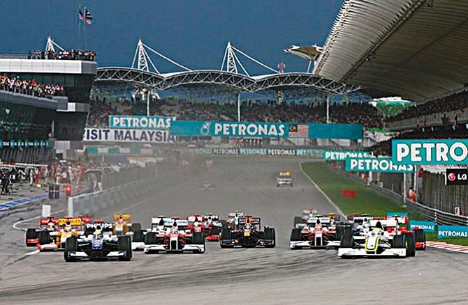 F1 en Malasia
