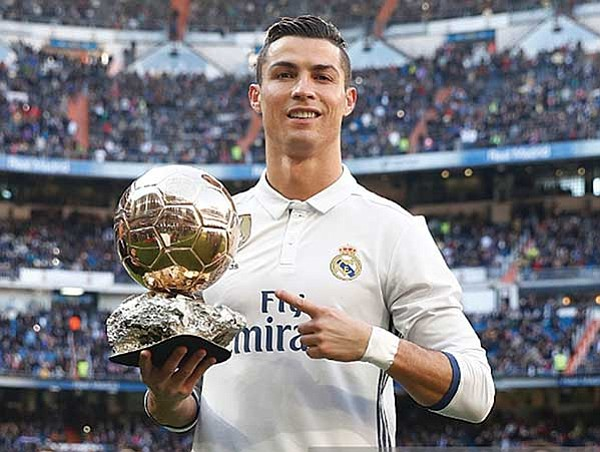 Admirable gesto de CR7