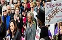 Kamala Harris en un evento de defensa de ACA. Foto-Cortesía.