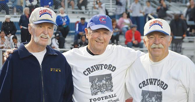 ¡Estrenan estadio! generaciones de Colts presenciaron la ceremonia de inauguración del nuevo estadio de Crawford HS