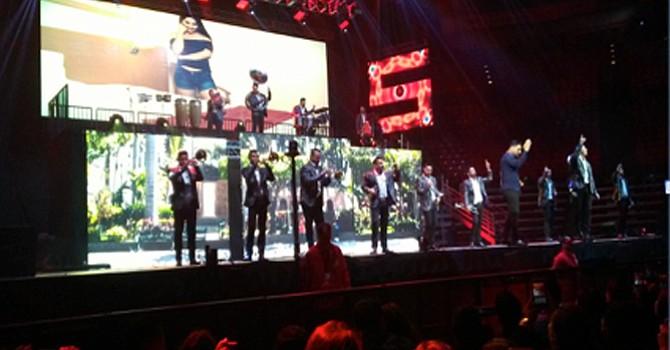 Fascinaron a la audiencia  los integrantes de Banda MS; 'prendieron' al público con temas que erizaron la piel