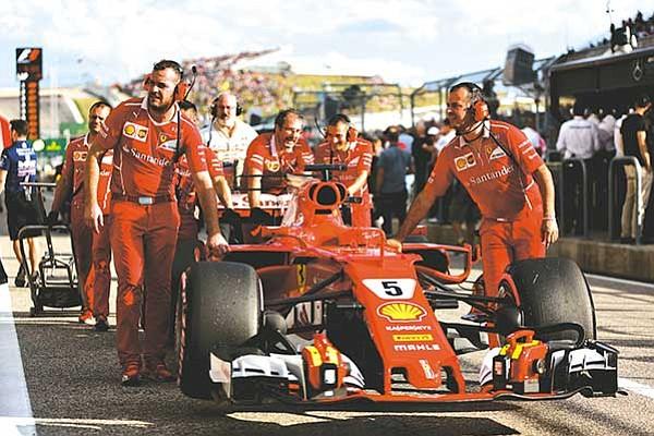 Ferrari amenazó  con abandonar la F1