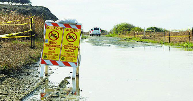 Alcalde de Imperial Beach dice que enfermó por las aguas sucias que cruzan la frontera