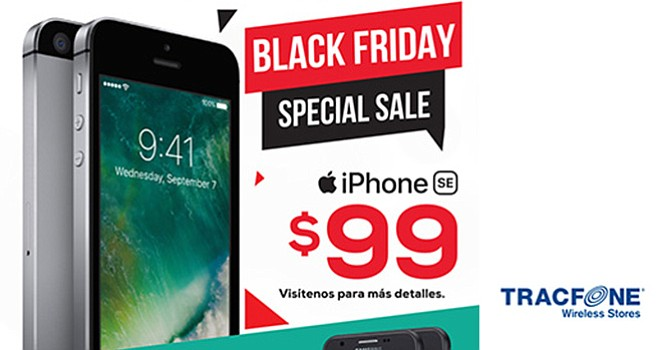 TRACFONE - Black Friday Special Sale