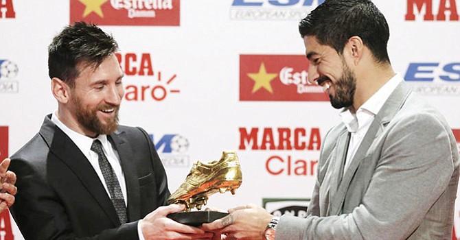 Obtiene La Bota de Oro, Leonel Messi 'empata' al portugués Cristiano Ronaldo