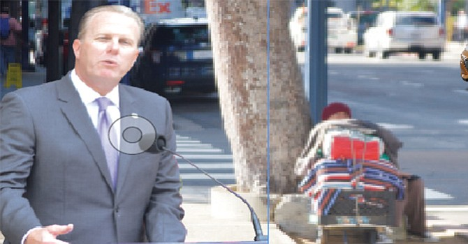 """""""Necesitamos acción"""" ante la proliferación de personas sin hogar en las calles de San Diego, reconoció Kevin Faulconer"""