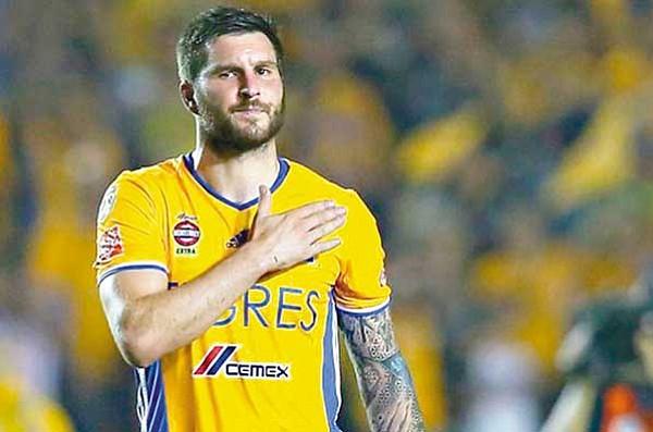 En la tabla de goleadores de la Liguilla Liga MX: Gignac superó al 'Chupete' Suazo