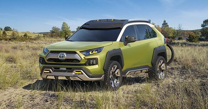 El Concepto de Aventura Toyota Futuro (ft-ac)