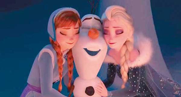 Disney retiró corto de  Frozen de la taquillera Coco