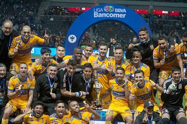 Tigres alcanzó su sexto título