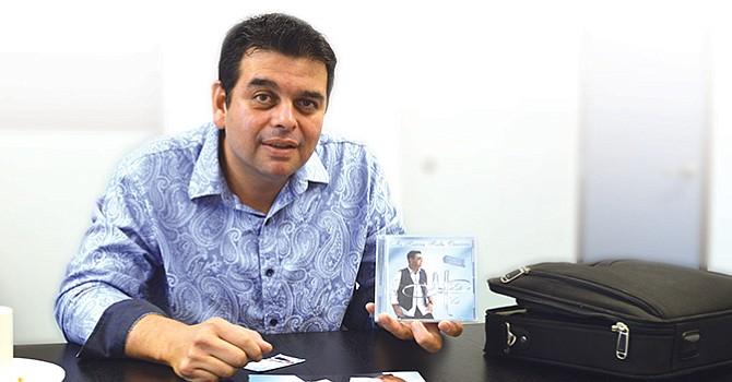"""""""Mi historia hecha canciones"""", refleja las vivencias y sueños de Marco Polo, el compositor del promocional de El Latino de SD"""