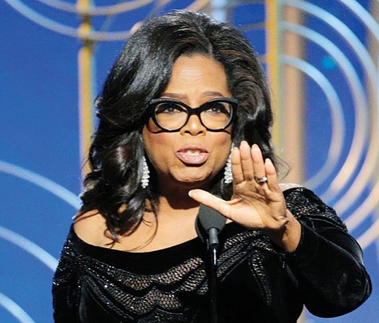 Oprah, la candidata