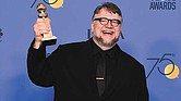 UN TITÁN. El director mexicano Guillermo del Toro ganó el Golden Globe a mejor director por la película 'The Shape of Water'.