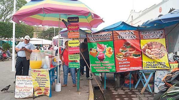 'Comida rápida' ensucia  las calles mexicanas