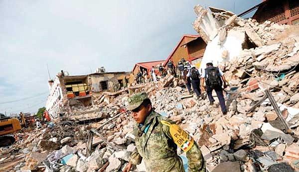 Millonario fraude en dinero  para víctimas de terremotos