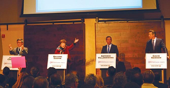 Precandidatos corporativos dominan Convención Demócrata efectuada en la ciudad de San Diego