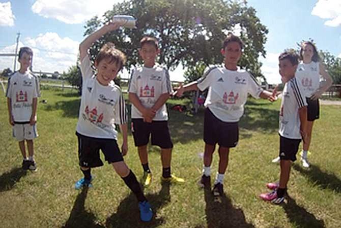 Fútbol de primavera para chicos