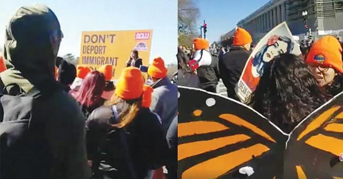 Externan preocupaciones, 'Dreamers' de San Diego quienes se reunieron con congresistas y se manifestaron en El Capitolio
