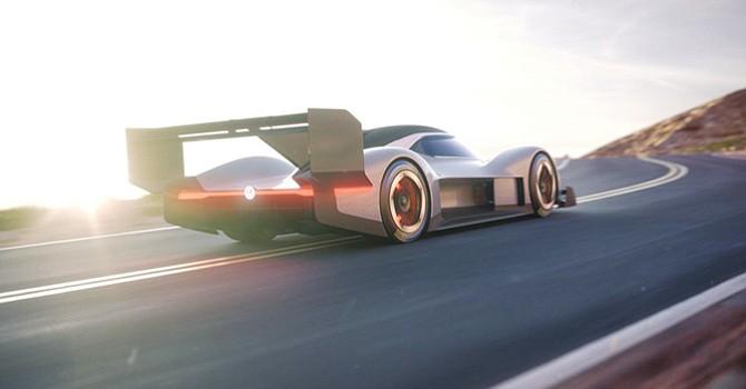 """Volkswagen revelo el todo eléctrico """"ID R Pikes Peak"""""""