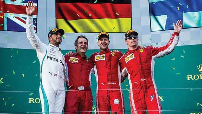 Vettel ganó en Australia