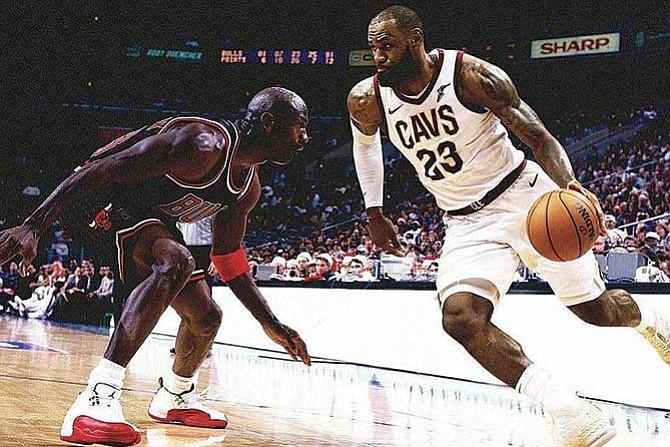 LeBron superó marca de Jordan