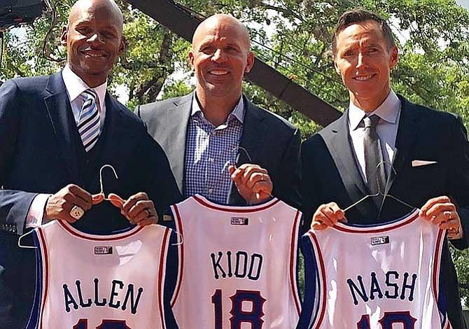 Más estrellas NBA al Salón de la Fama