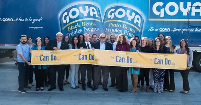 Dona alimentos Goya Foods, al Banco de Comida Segunda Cosecha; en  apoyo a comunidades con acceso limitado a los mismos