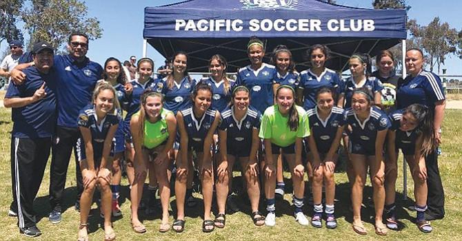 ¡Campeonas estatales! Futbolistas locales que representarán a California en Campeonato Regional en UT