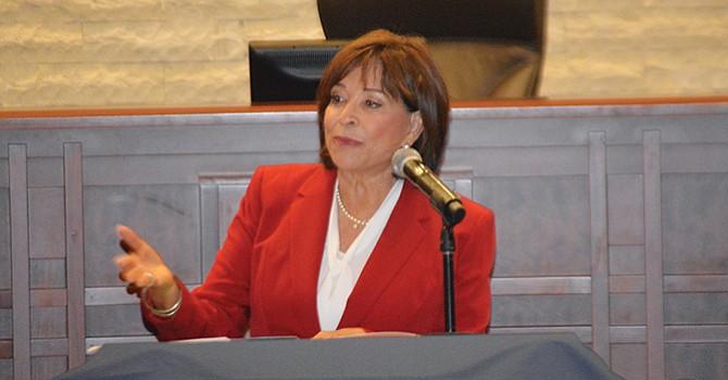 """Han mejorado vialidades, Seguridad Pública y Vialidades, considera Alcaldesa de Chula Vista, pero ciudadanos se oponen a Medida 'A"""""""
